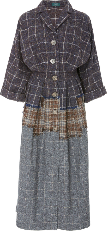 Alena Akhmadullina Plaid Shirt Dress