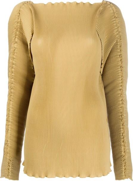 Totême Pleated long-sleeve top