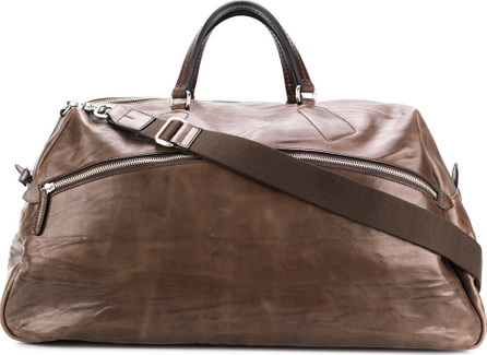 Al Duca D'Aosta 1902 Creased oversized tote bag