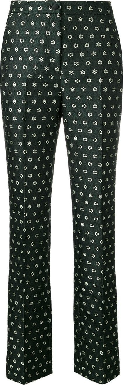 Alexa Chung Floral tailored trousers