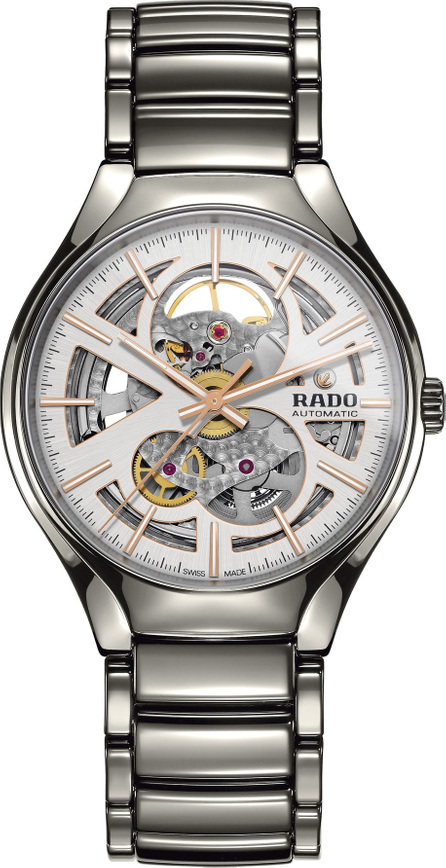 Rado True Open Heart Ceramic Watch, 40mm
