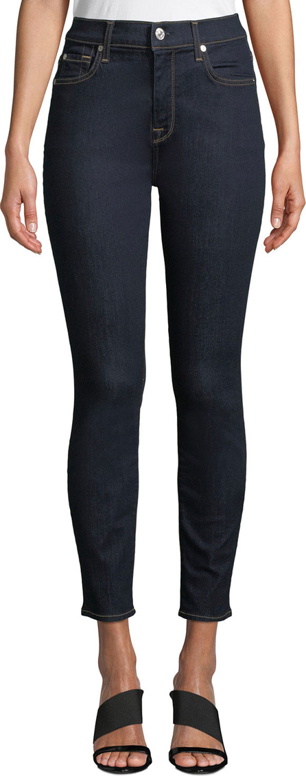 7 For All Mankind The Ankle Skinny High-Waist Jeans