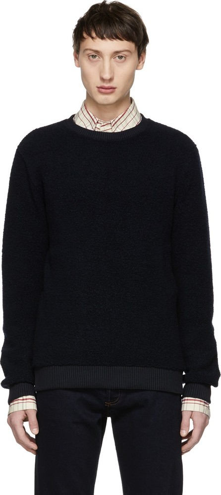 A.P.C. Navy Lane Sweatshirt