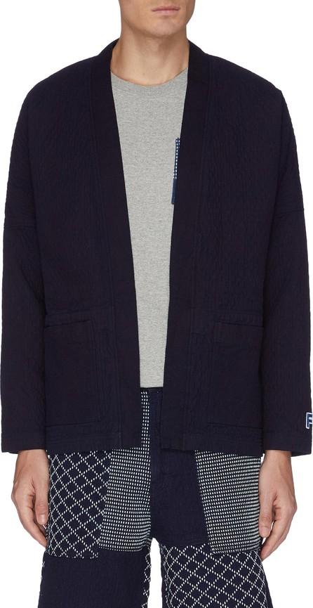 FDMTL Patch pocket cotton haori cardigan