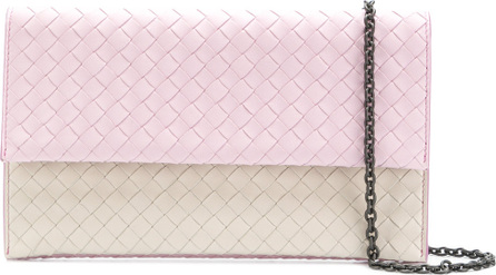 Bottega Veneta Intrecciato chain wallet