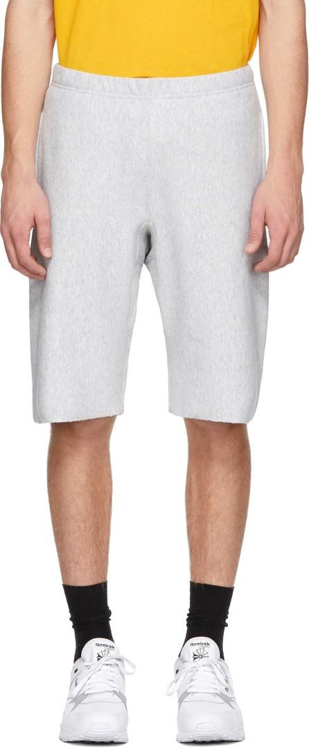 Champion Reverse Weave Grey Logo Bermuda Shorts
