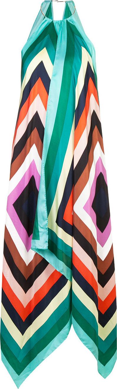 DIANE von FURSTENBERG Diamond print maxi dress