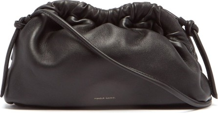 Mansur Gavriel Cloud mini leather clutch