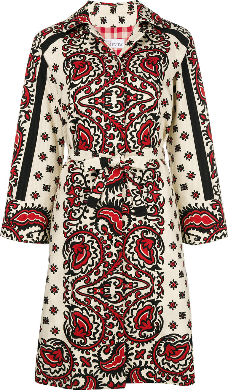 RED Valentino - Paisley print jacket