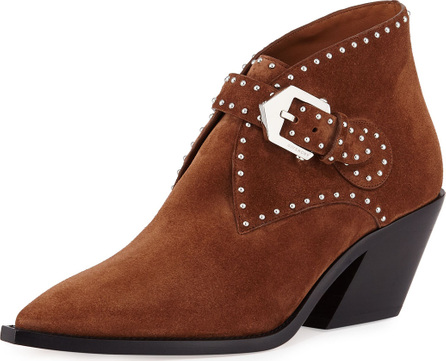 Givenchy Elegant Studded Western Bootie