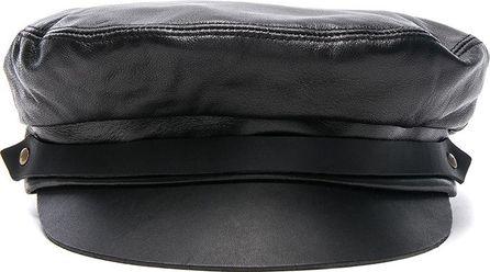 Lola Hats for FWRD Leather Fiddler Hat