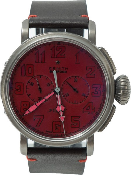 Bamford Watch Department Red Zenith Type 20 Chrono 'Ton Up'