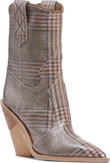 Fendi Cutwalk Plaid Bootie