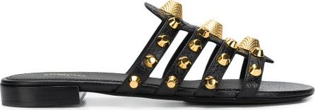 Balenciaga Giant gold sandals