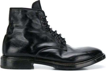 Premiata Lace-up leather boots