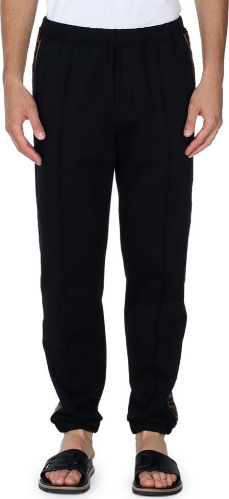 Fendi Logo-Stripe Sweatpants