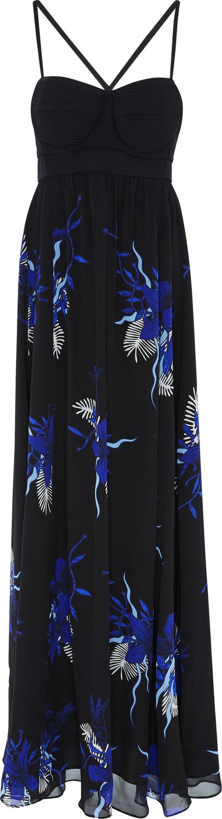 Proenza Schouler Printed Silk-Chiffon Maxi Dress