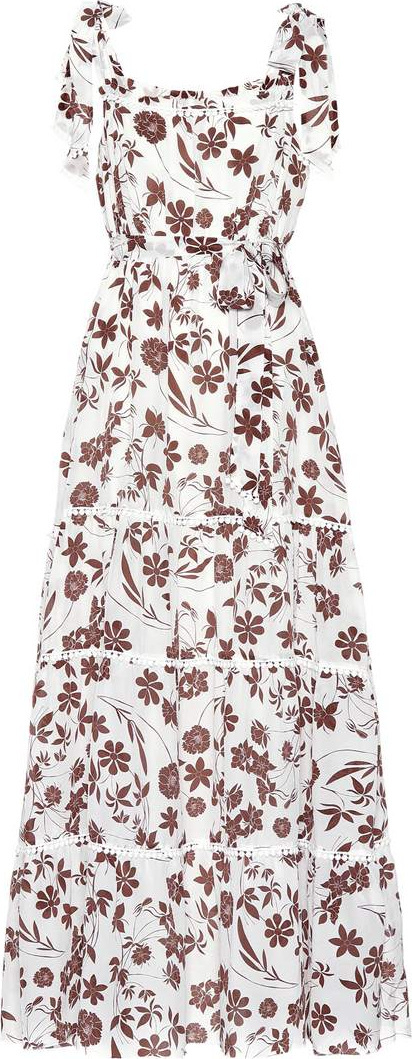 Athena Procopiou With Carly floral silk dress