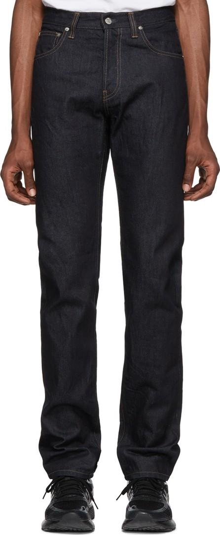 Helmut Lang Indigo Masc Hi Straight Jeans