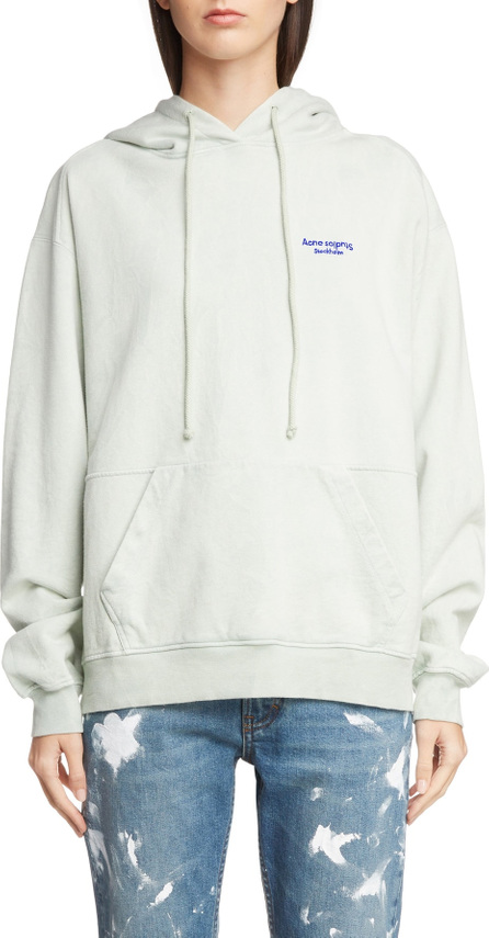 Acne Studios Embroidered Logo Hoodie
