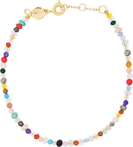 Anni Lu Multicoloured Iris Mix Gold Plated Bracelet