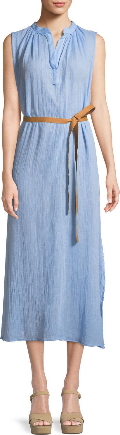 Eberjey Summer of Love Sleeveless Maxi Sun Dress