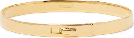 Miansai Standard 18-Karat Gold-Plated Cuff