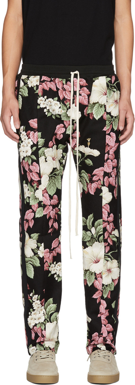 Fear of God Black Backcloth Floral Lounge Pants