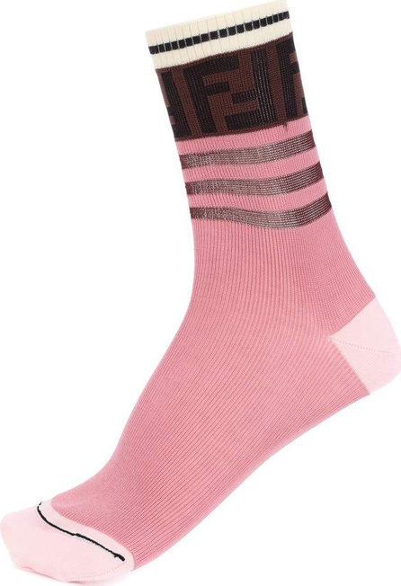 Fendi Logo cotton-blend socks