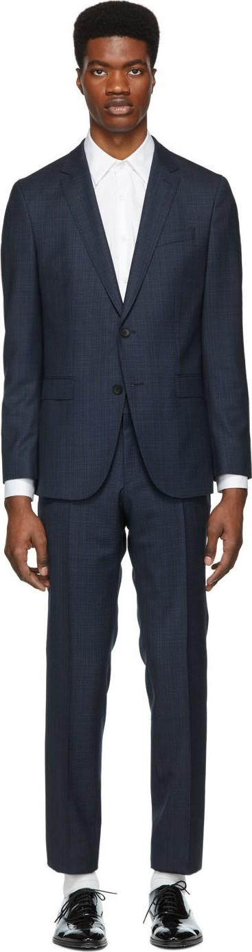 BOSS Hugo Boss Navy Novan Ben Suit