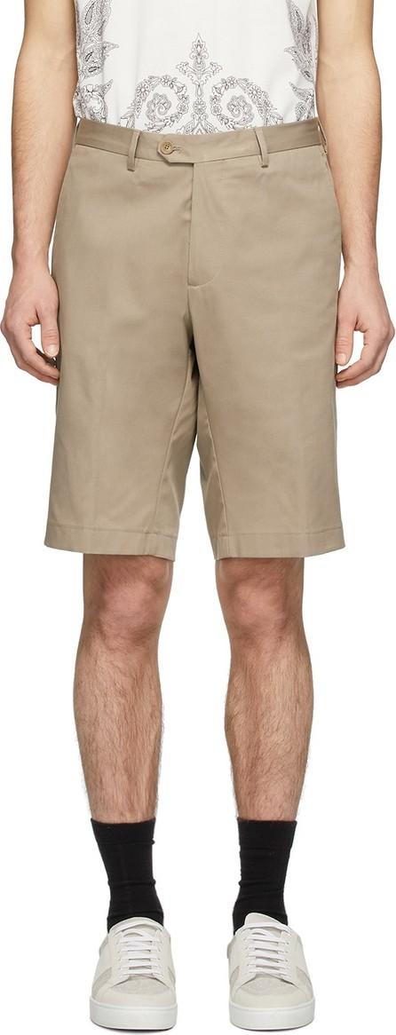 Etro Beige Bermuda Shorts
