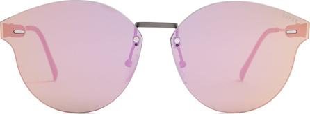 RetroSuperFuture Tuttolente frameless cat-eye sunglasses