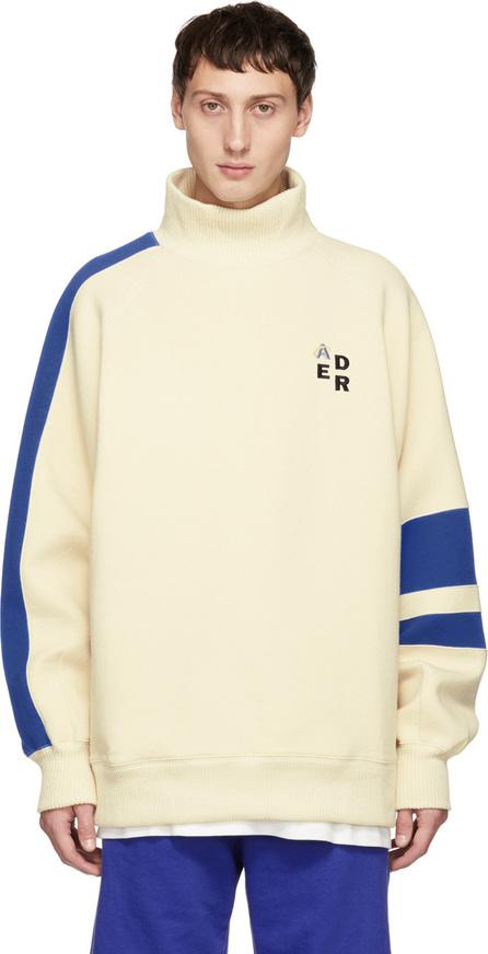 ADER error Off-White Mock Neck Sweatshirt
