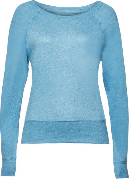 Majestic Sweatshirt with Linen and Silk