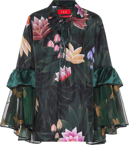 F.R.S For Restless Sleepers Pothos floral-printed pyjama shirt