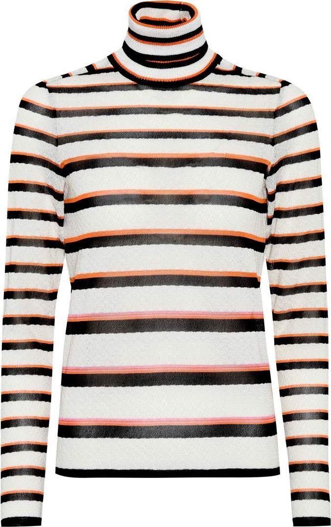 Missoni - Striped turtleneck sweater