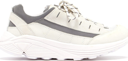 Ganni Iris chunky-sole leather trainers
