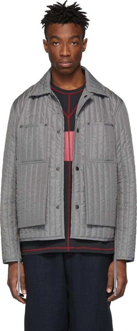 Craig Green Grey Quilted Worker Jacket
