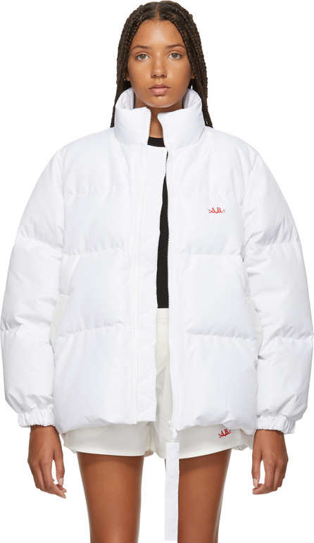 Anton Belinskiy White Down Jacket