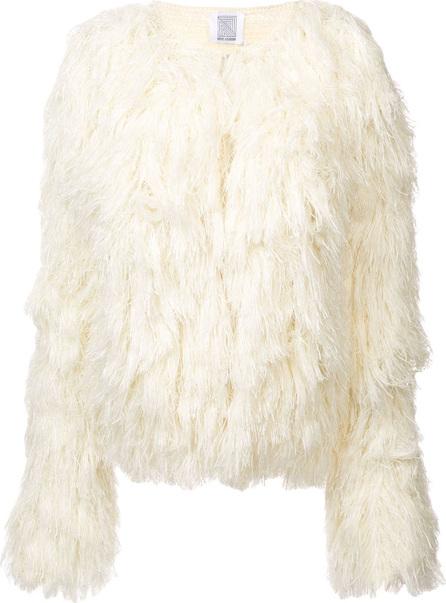 Rosie Assoulin Fringed knit jacket