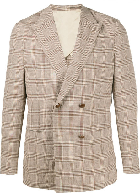 Nanushka Darwin checkered blazer