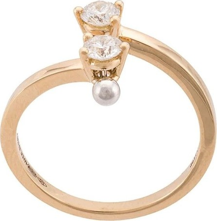 Delfina Delettrez Gold Two in One diamond ring