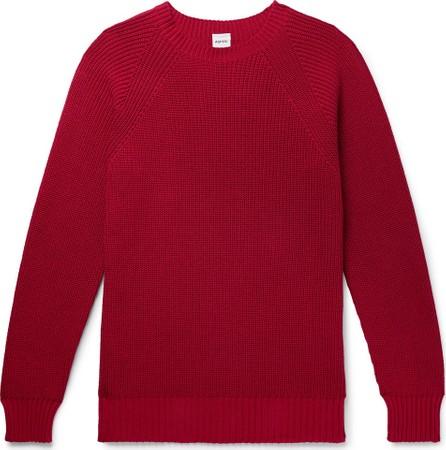 Aspesi Slim-Fit Cotton Sweater