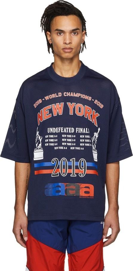 Alexander Wang Navy 'World Championships' T-Shirt