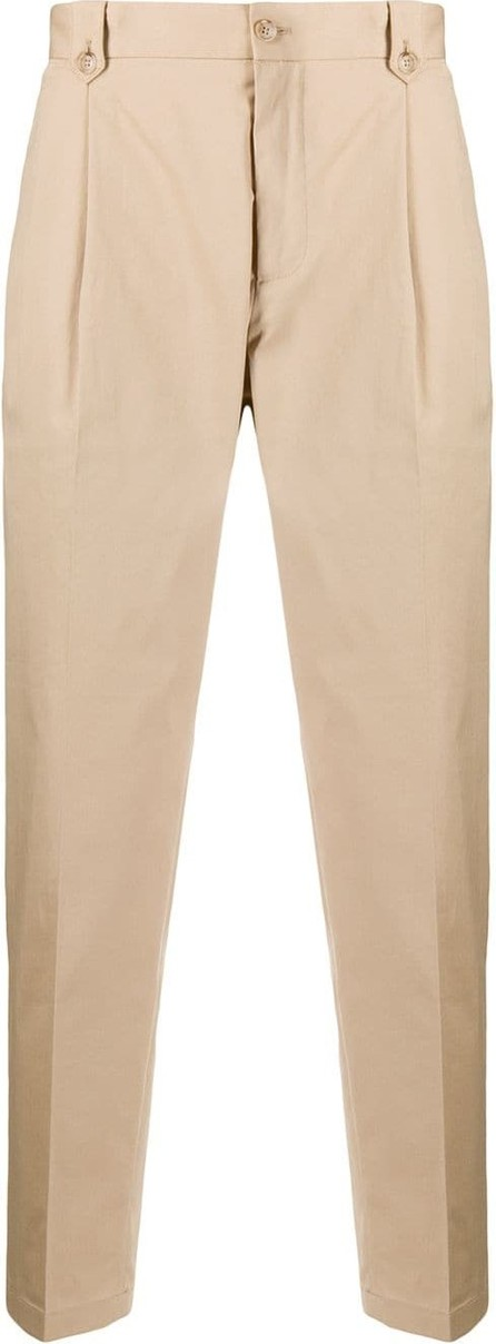 Dolce & Gabbana Pleated cropped trousers