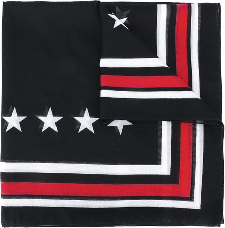 Givenchy star print scarf