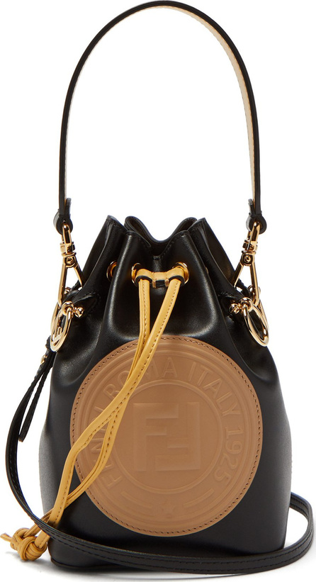 Fendi Mon Tresor mini leather bucket bag