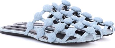 Alexander Wang Amelia studded slippers