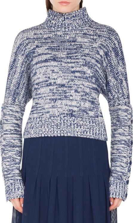 Akris Punto Mélange Knit Turtleneck Sweater