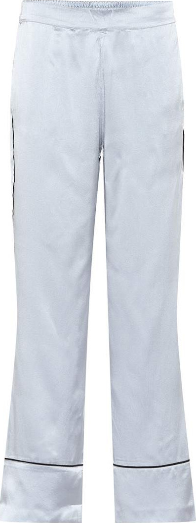Asceno Silk satin pajama pants